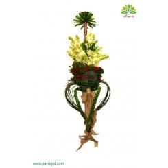 دسته گل عاشقانه رز و مریم کد DF00103