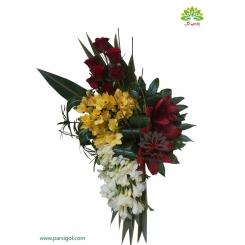 سبد گل فانتزی تبریک تولد فرزیا کد DF04002