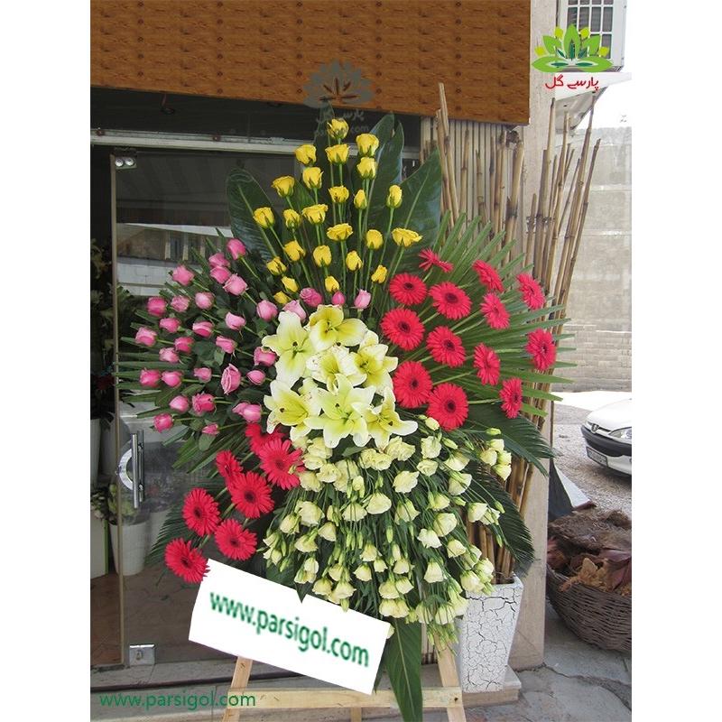 تاج گل افتتاحیه و تبریک شایسته کد DF08101