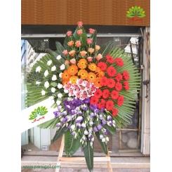 تاج گل افتتاحیه و تبریک چشمگیر کد DF08301