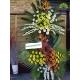 تاج گل تبریک دو طبقه خاص کد DF09101