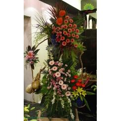 تاج گل افتتاحیه و تبریک خاص کد DF08701