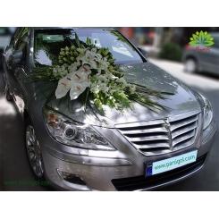 ماشین عروس گل لیلیوم و رز کد CR119
