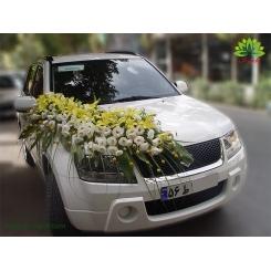 ماشین عروس گل لیلیوم و لیسیانتوس کد CR132