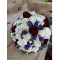 دسته گل عروس رنگارنگ کد DF03804