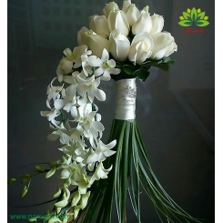 دسته گل عروس کد DF04304