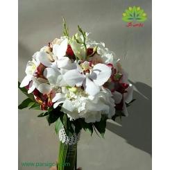 دسته گل عروس کد DF04404