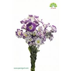 دسته گل لیسیانتوس لب بنفش