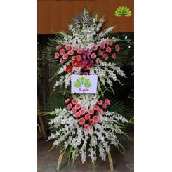 تاج گل عزاداری دو طبقه کلاسیک کد DF20601