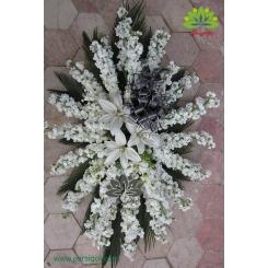 سبد گل رومیزی فاتحه و ترحیم کد DF01206