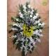 سبد گل ختم و فاتحه رومیزی کد DF01406