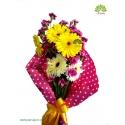 دسته گل تبریک و آشنایی کد DF00303