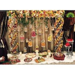 تزیین میوه و هدیه شب یلدا برای عروس کد YL00501