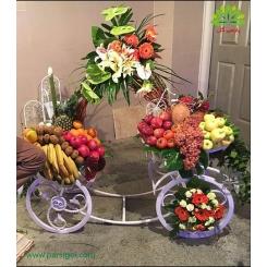 تزیین گل و میوه ویژه شب یلدا کد YL00201