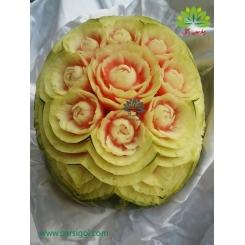 تزئین شیک میوه هندوانه ویژه شب یلدا کد YL01001