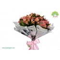 دسته گل کلاسیک آلستر کد DF01103