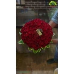 دسته گل عروس کد DF05504