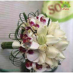 گل دست عروس کد DF07204