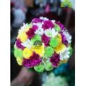 دسته گل حنابندون رنگارنگ عاشقانه کد DF08004