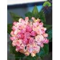 دسته گل عروس پر گل رز کد DF08304