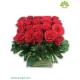 جعبه گل شیشه ای رز لاین کد DF00105