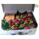 جعبه گل طرح چمدان رزا کد DF00205