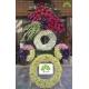 تاج گل تبریک لاکچری رنگارنگ کد DF01101