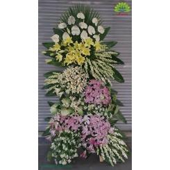 تاج گل تبریک پرگل آنتوریوم کد DF01601