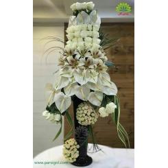 سبد گل خواستگاری مجلل و باشکوه کد DF02402