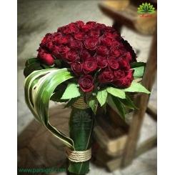 دسته گل رز هدیه ولنتاین کد DF02703