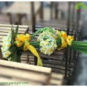 دسته گل نرگس هدیه ولنتاین کد DF03303