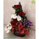 سبد گل لاکچری تبریک روز مادر کد DF07702