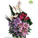 سبد گل هدیه روز مادر کد DF08102