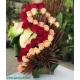 سبد گل نامزدی عروس کد DF09002