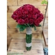 دسته گل تبریک تولد رز قرمز کد DF03503