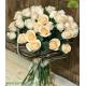 دسته گل رز نامزدی شیک کد DF03703