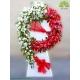 تاج گل تبریک عروسی کلاسیک کد DF56501