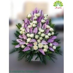 سبد گل تبریک تولد کد DF10002