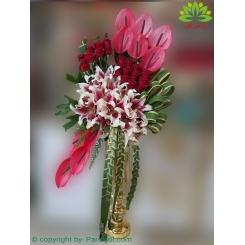 سبد گل تبریک شیک کد DF10402