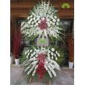 تاج گل ترحیم و عزاداری سلطنتی کد DF03501