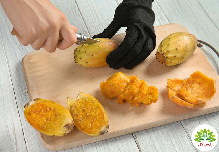 مصرف میوه کاکتوس، آموزش مصرف میوه کاکتوس، نحوه مصرف میوه پر خاصیت کاکتوس