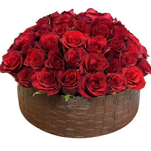 سفارش گل رز ولنتاین و باکس گل رز ولنتاین