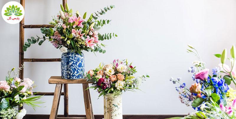 قیمت انواع گل گل طبیعی، سفارش آنلاین گل و سفارش اینترنتی گل از خارج کشور