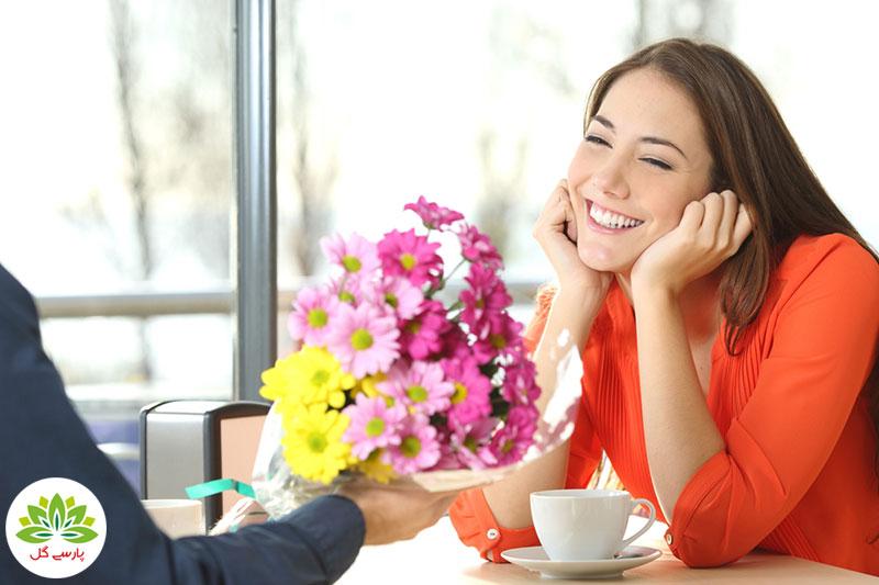 بهترین هدیه ولنتاین برای خانم ها چه گلی است، چه گلی به خانم ها در روز ولنتاین کادو دهیم