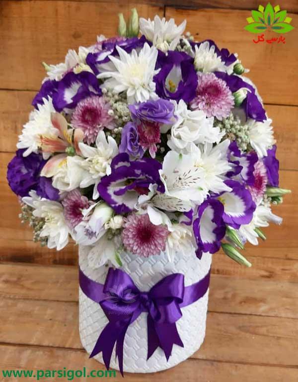 ارسال رایگان باکس گل و تحویل رایگان باکس گل ارزان قیمت